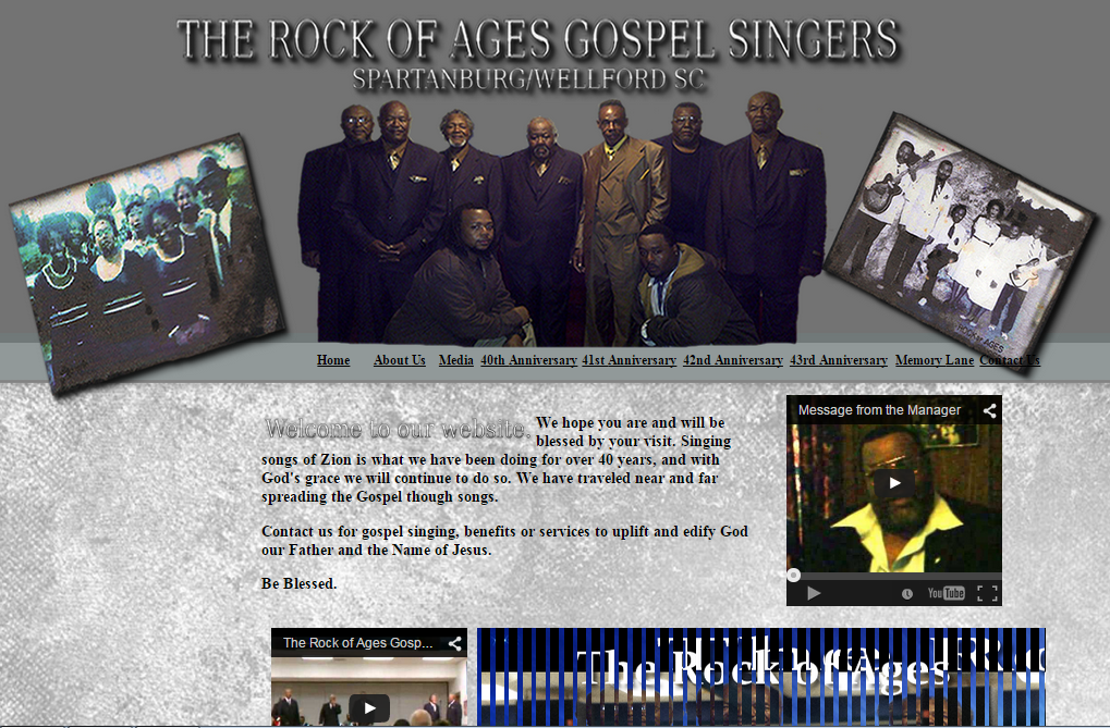 The Rock of Ages Gospel Quartet Group